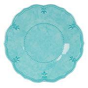 Baci Milano - Baroque & Rock Aqua Dessert Plate