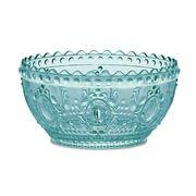 Baci Milano - Baroque Aqua Salad Bowl