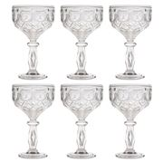Baci Milano - Neo Barocco Diamante Clear Cocktail Set 6pce