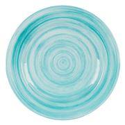 Baci Milano - Neo Barocco Aqua Dinner Plate