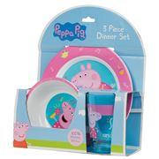 Peppa Pig - Peppa Dinner Set 3pce