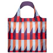 LOQI - Geometric Collection Stripes Reusable Shopping Bag