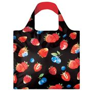LOQI - Juicy Collection Strawberries Reusable Shopping Bag
