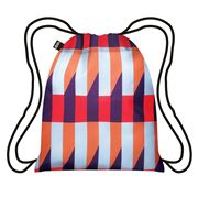 LOQI - Geometric Collection Stripes Backpack
