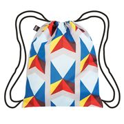 LOQI - Geometric Collection Triangles Backpack