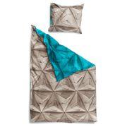 Snurk - Monogami Blue Single Quilt Cover Set