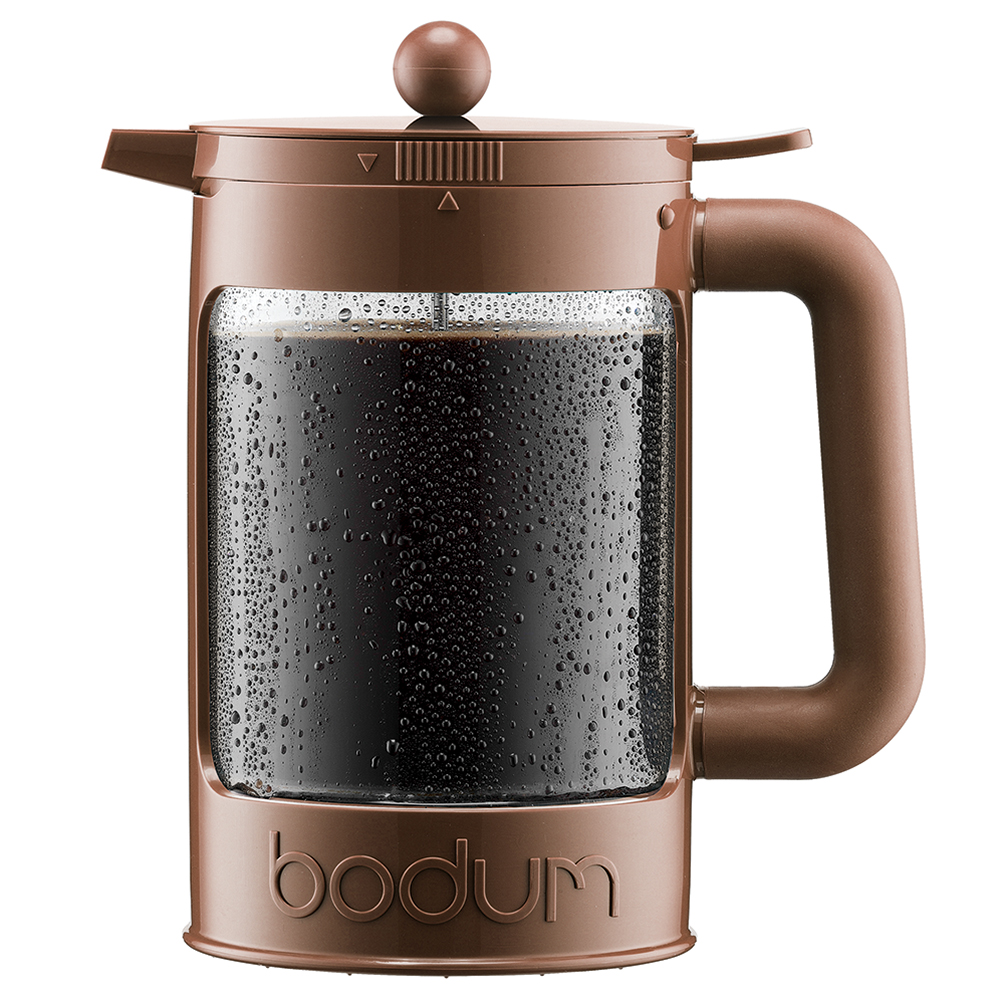 bodum colour collection brown ice coffee maker 1 5l peter 39 s of kensington. Black Bedroom Furniture Sets. Home Design Ideas