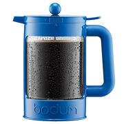 Bodum - 2016 Colour Collection Blue Ice Coffee Maker 1.5L