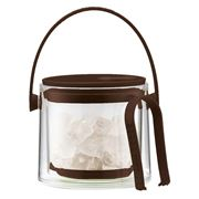 Bodum - Cool Brown Ice Bucket with Tongs 1.5L