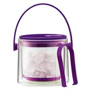 Bodum - Cool Purple Ice Bucket with Tongs 1.5L