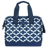 Sachi - Insulated Lunch Bag Moroccan Navy Small