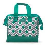 Sachi - Insulated Peacock Jade Lunch Bag