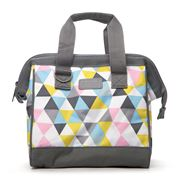 Sachi - Insulated Triangle Mosaic Lunch Bag