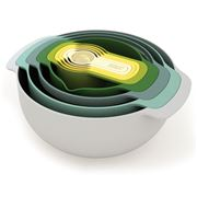 Joseph Joseph - Nest 9 Plus Opal Food Preparation Set