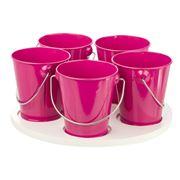 Retro Kitchen - Kids Kitchen Craft Turntable Hot Pink
