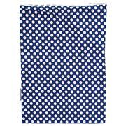 A.T. - Navy Blue Polka Dot Travel Laundry Bag