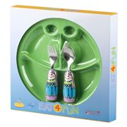 Eat4Fun - Fairy Princess Kids' Cutlery & Plate Set