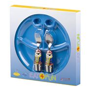 Eat4Fun - Pirate Kids' Cutlery & Plate Set