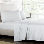 Sheridan - Luxury Twill Sheet Set Snow Queen Size