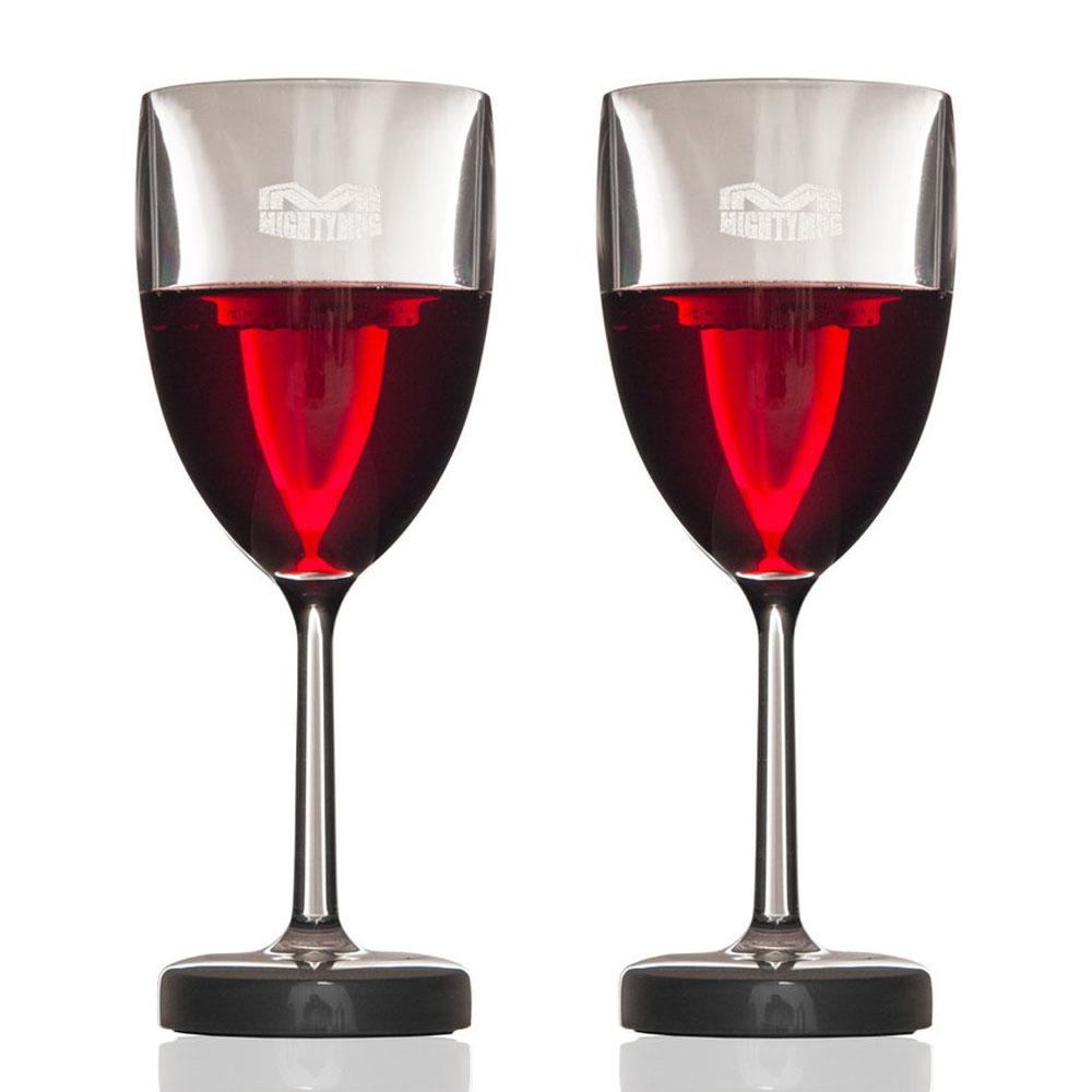 mighty mug barware wine set 2pce peter s of kensington