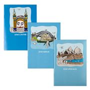 Squidinki - Sydney Harbour Collection Notebook Set 3pce