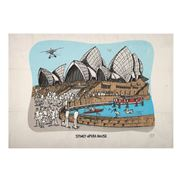 Squidinki - Sydney Opera House Tea Towel