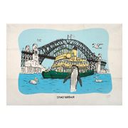 Squidinki - Sydney Harbour Tea Towel
