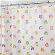 Inter Design - Shower Curtain Owlz