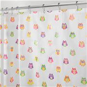 Inter Design - Shower Curtain Owlz