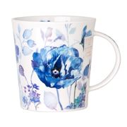 Dunoon - Lomond Blue Haze Closed Butterfly Mug