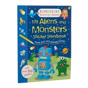 Book - My Aliens and Monsters Sticker Storybook