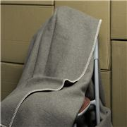 Onkaparinga - Australian Wool Grey Blanket