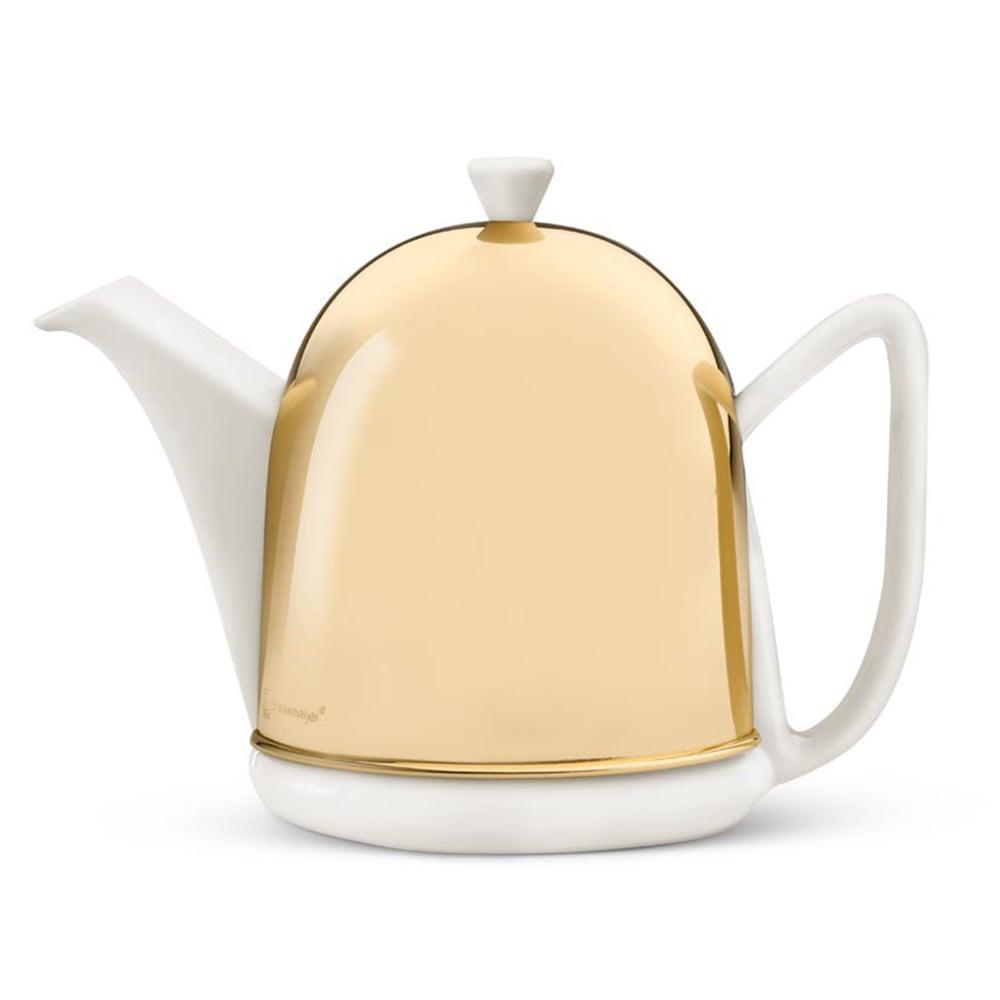 Bredemeijer - Cosy Manto Brass Teapot 1L   Peter\'s of Kensington