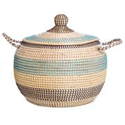 Tribe Home - Large Blue Urn