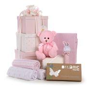 Boz Baby - 3 Tier Pink Baby Hamper