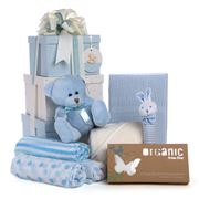 Boz Baby - 3 Tier Blue Baby Hamper