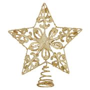 Swish Collection - Gold Star Tree Topper 25cm