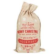 Swish Collection - Hessian Elf Christmas Sack