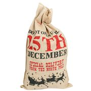Swish Collection - Hessian 25th December Sack