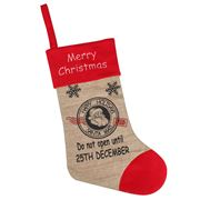 Swish Collection - Giant Hessian Christmas Stocking