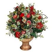 Swish Collection - Floral Eucalyptus Christmas Centrepiece
