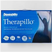 Dunlopillo - Therapillo Cooling Gel Top Memory Foam Pillow