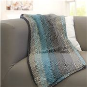 Otto & Spike - Mizzle Square Throw Blue