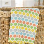 Otto & Spike - Rainbow Love Cot Blanket