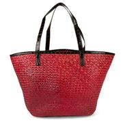 Condura - Eva Red Seagrass Bag