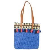 Condura - Charlotte Blue Crochet Shoulder Bag