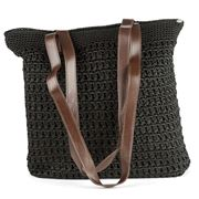 Condura - Nora Black Crochet Bag