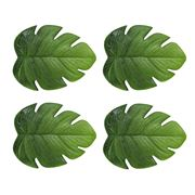 A.T. - Palm Leaf Coaster Set 4pce