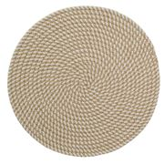 AT - White Woven Jute Placemat