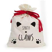 AT - Santa Claws Pet Santa Sack